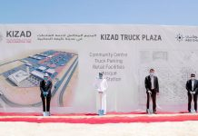 Middle East's largest truck refueling and rest facilities in now at KIZAD
