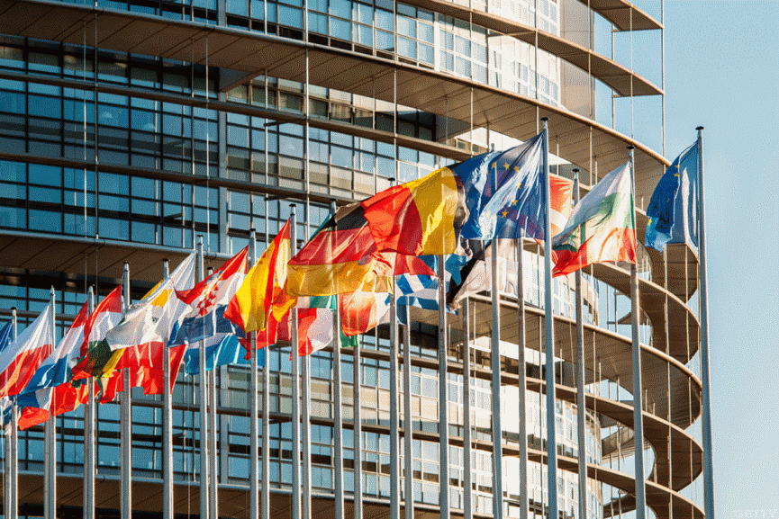 EU European Union Flag Image