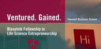 Blavatnik Fellowship in Life Science Entrepreneurship