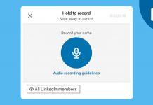 LinkedIn Pronunciation Feature