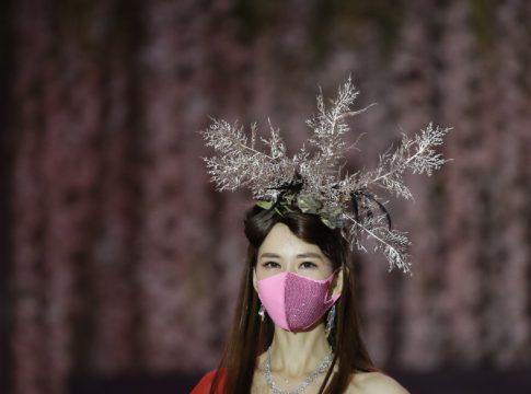 Fashion Show with Masks
