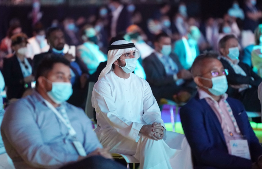 Sheikh Hamdan at Dubai AI Everything Event