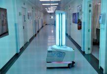 Dubai Health UV Robots