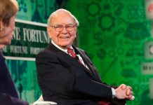 Warren Buffet donates to Bill Gates and 4 other charities