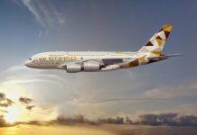 Etihad Flight Image