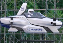 SkyDrive test flight