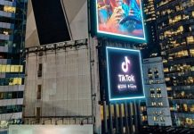 TikTok Times Square