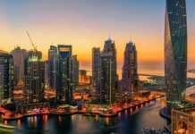 Dubai Landscape Image