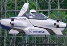SkyDrive test flight
