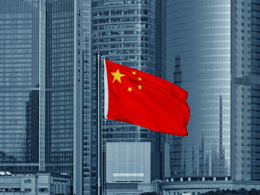 China Flag Image