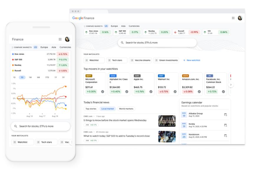 Google Finance feature 2