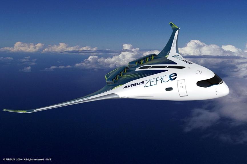 ZEROe aircrafts image