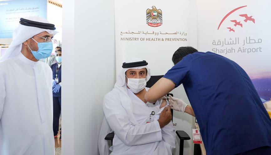 COVID-19 Vaccination Drive at Sharjah Airport