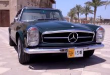 Dubai Vintage Car