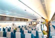 Airplane Sanitization