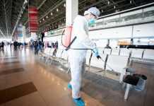 Airport Sanitization