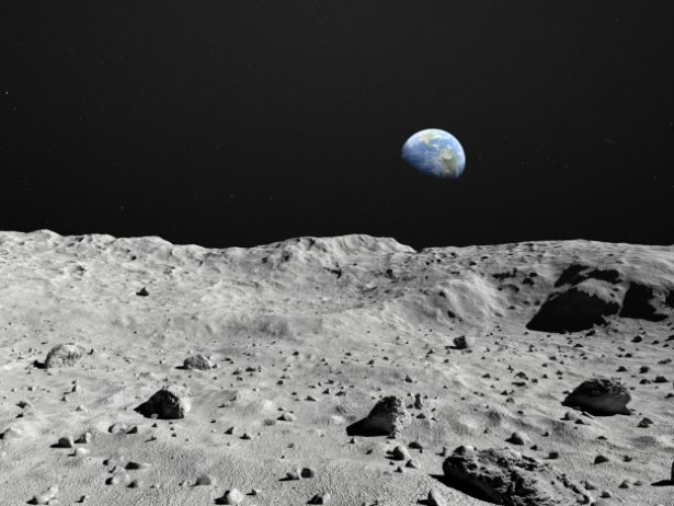 Moon Surface Image