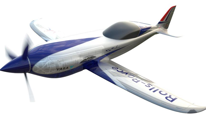 Rolls Royce Electric Plane