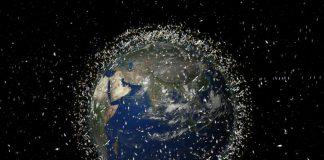 Debris in Space Image