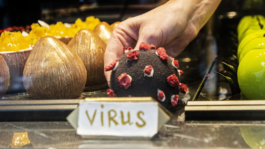 GCC Business News COVID-19 Virus dessert Image