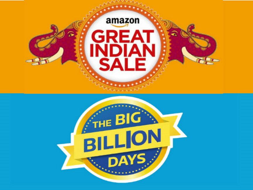 Flipkart Vs. Amazon Image