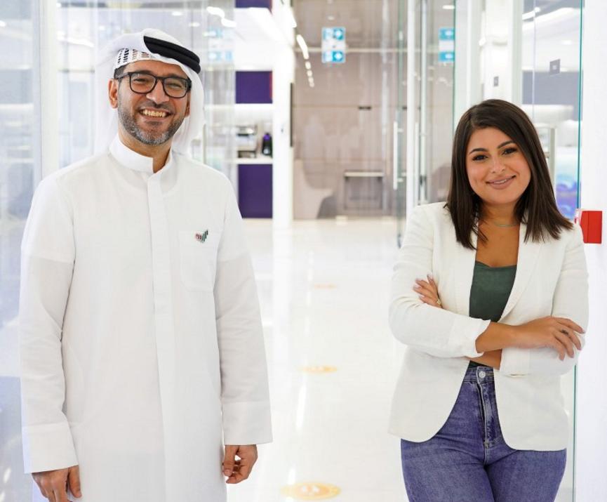 Rashid Al Awadhi and Mina Al Sheikhly