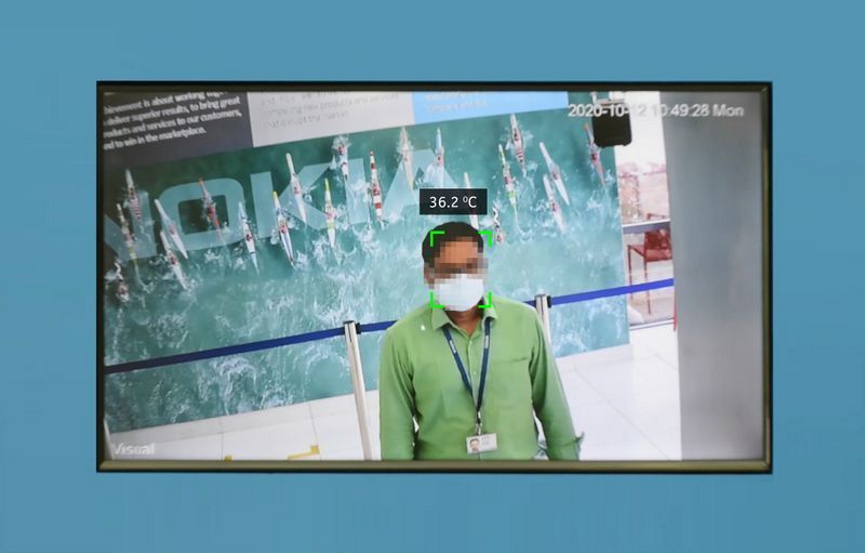 Nokia COVID-19 Detection System