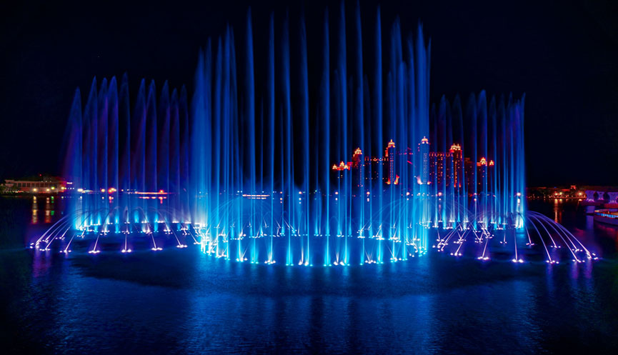 Palm Fountain