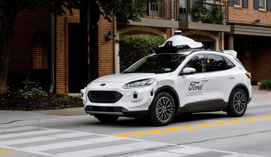 Ford Self Driving Car Image
