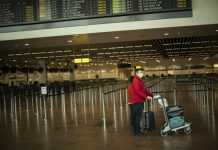 Passenger at Airport
