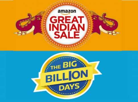 Flipkart Vs. Amazon Image