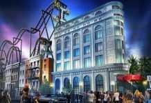 John Wick inspired theme park image