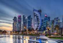 Qatar at Night