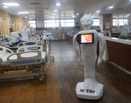GCC Business News Mitra Robot Image