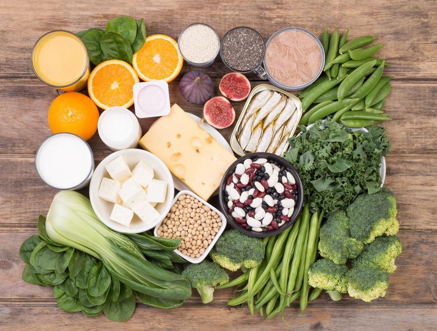 Calcium rich food
