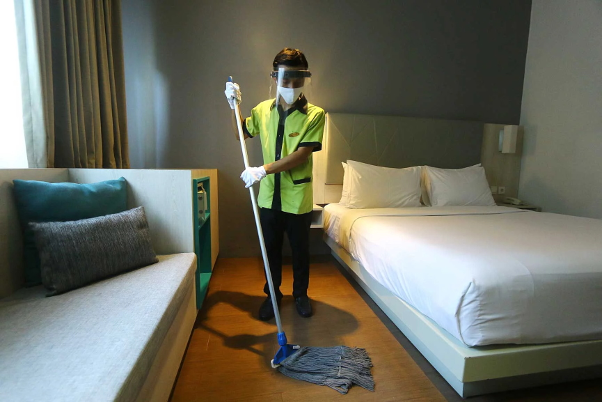 Hotel Cleaning Image