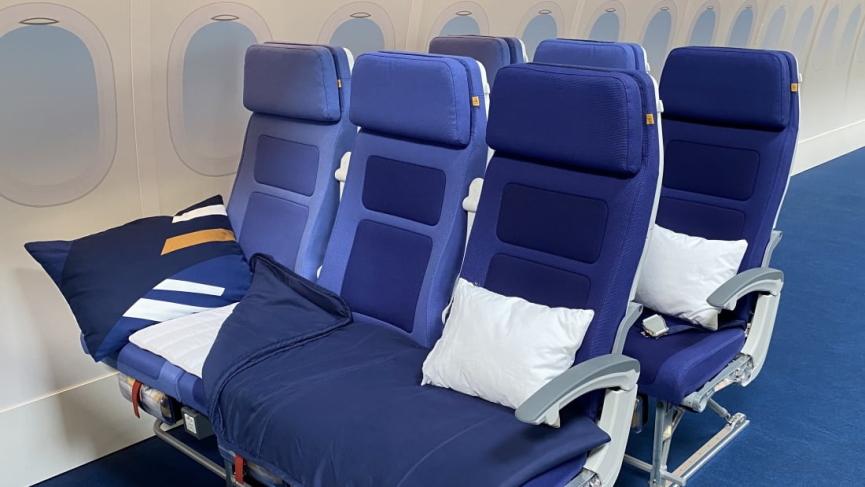 Lufthansa Economy Seats Image