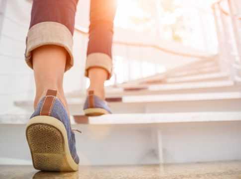 Climbing Stairs Image