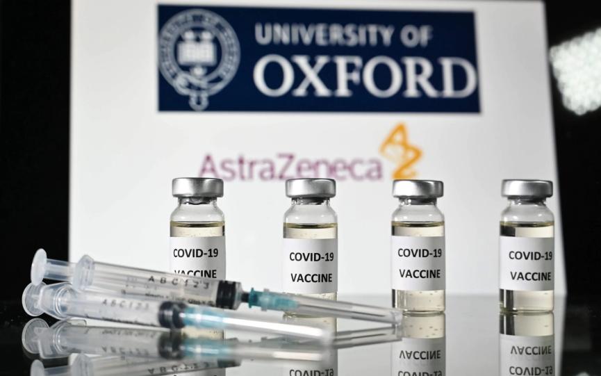 Oxford-AstraZeneca Vaccine Image