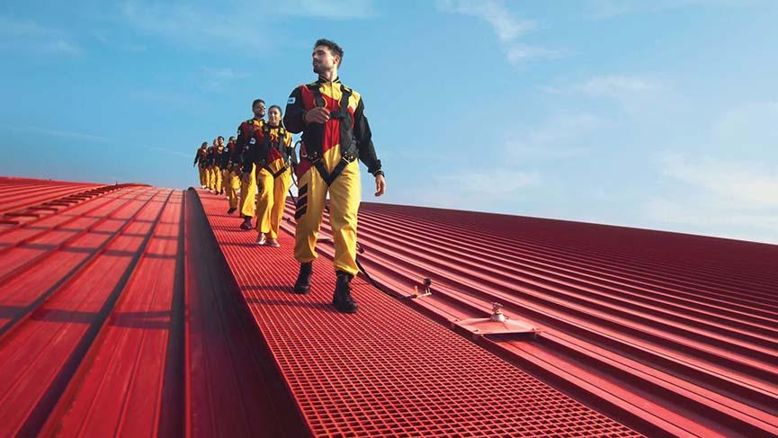 Roof Walk Ferrari World