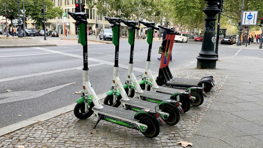 E scooters Image