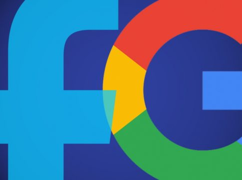 Google & Facebook Logo Image