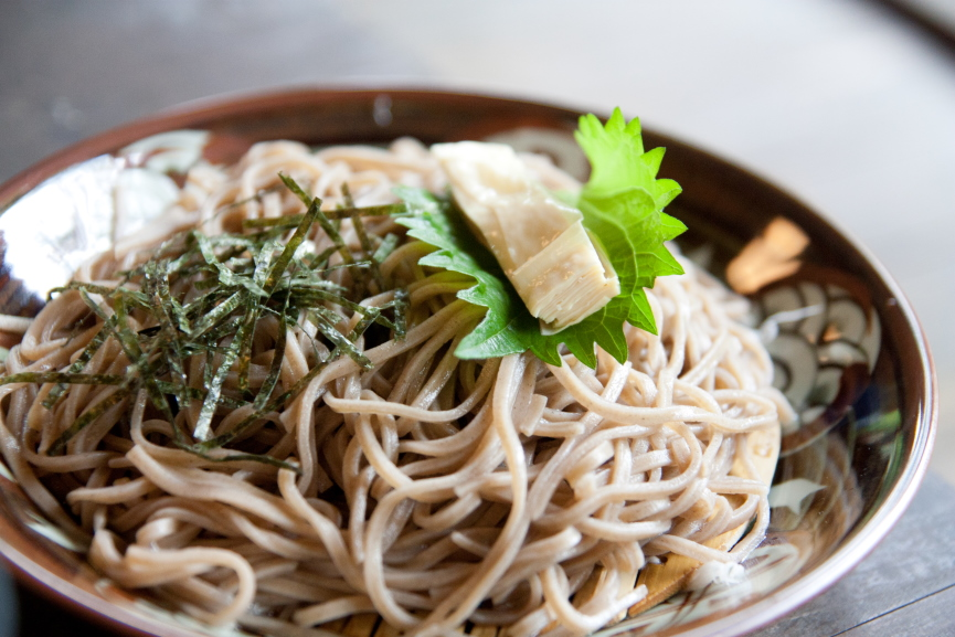Food Soba Noodles Image