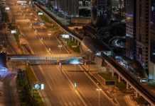 Dubai Roads Image