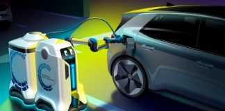 Volkswagen Charging Robot Image