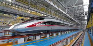 Bullet Train in China Image