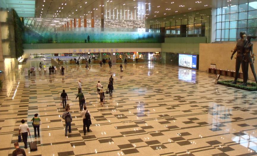 Changi Airport Interiors Image
