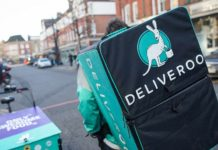 Amazon-backed Deliveroo raises $180mn from funding round