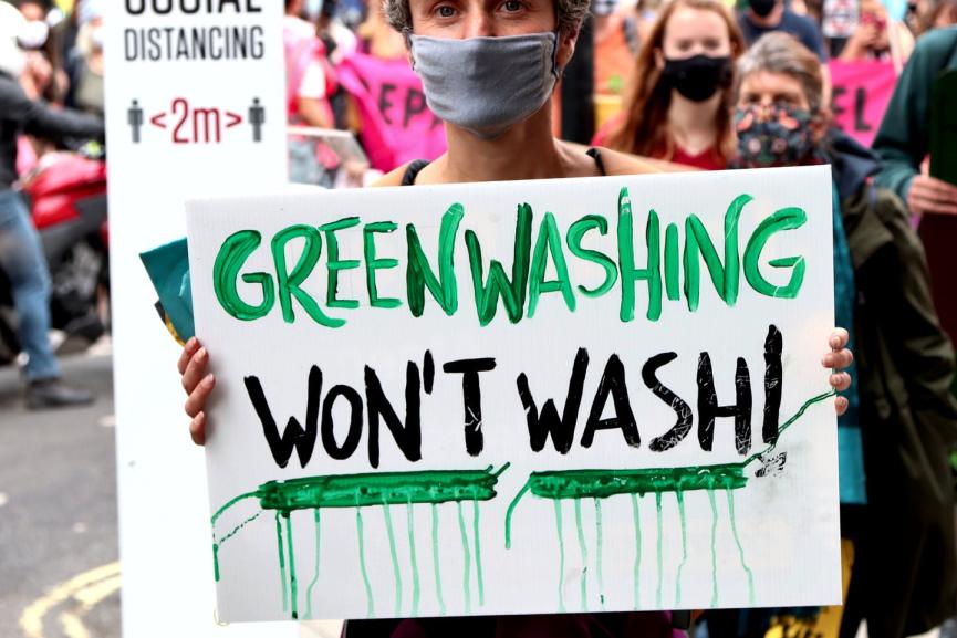 Green Washing Image