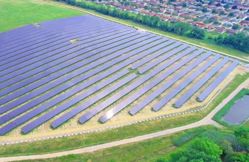 Landfill Solar Project Image